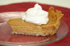 Shortcut Pumpkin Pie | With store-bought gluten free crust and ingredients you'd find in a classic pumpkin pie recipe, this gluten free pie recipe couldn't be simpler! Even people who don't normally eat gluten free will love this Thanksgiving dessert!