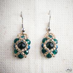 Kolczyki Beadwork | elley Beadwork, Drop Earrings, Zip, Jewelry, Jewlery, Bijoux, Schmuck, Drop Earring, Jewerly