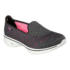 5694f491e198d3 Skechers Women s GOwalk 4 Casual Shoes - Black Pink