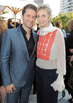 Backstage at the Geffen with Jane Lynch Matthew Morrison of GLEE and a full complement of Triple-A-list stars!