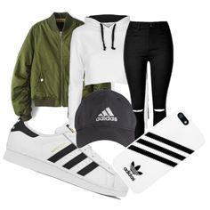 A fashion look from May 2016 featuring Topshop hoodies, adidas sneakers and adidas tech accessories. Browse and shop related looks.
