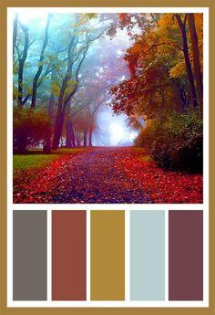 I love earth tones