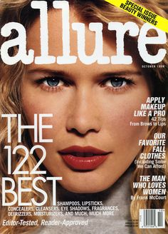 Allure's 25 Best Magazine Covers of All Time: Claudia Schiffer October 1998 | allure.com