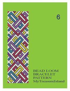 Bead Loom Geometrical Motifs 5 6 7 Multi-Color by MyTreasureIsland