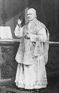 """Pope Pius IX """"I have always condemned Liberal Catholicism, and I will condemn it 40 times over if necessary!"""""""