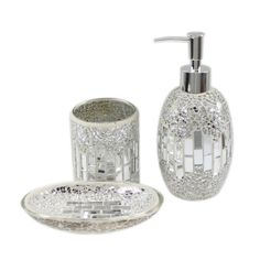 House Additions Mosaic Bathroom Accessory Set Reviews Wayfair Uk
