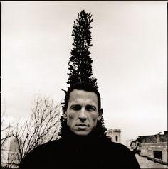 Lance Armstrong by Anton Corbijn. 2003