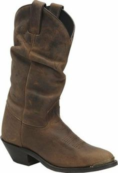 $100 Double H Boot - Women's Slouch  country chic