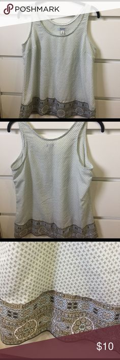Old Navy 100% polyester tank top Soft long top from Old Navy size Medium - non smoking household Old Navy Tops Tank Tops