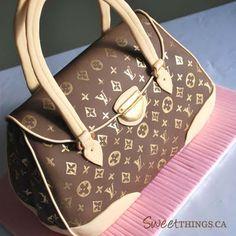 Amazing - Louis Vuitton Purse CAKE
