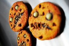Zombie cookie polymer clay fridge magnets