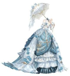 Manga Clothes, Drawing Anime Clothes, Anime Girl Drawings, Dress Design Sketches, Fashion Design Drawings, Anime Outfits, Cute Outfits, Beautiful Dresses, Nice Dresses
