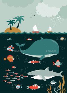 Sea Life. Underwater World