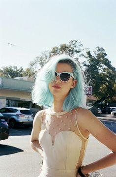 Blue hair !  #cheveux #hair #blue #pastel
