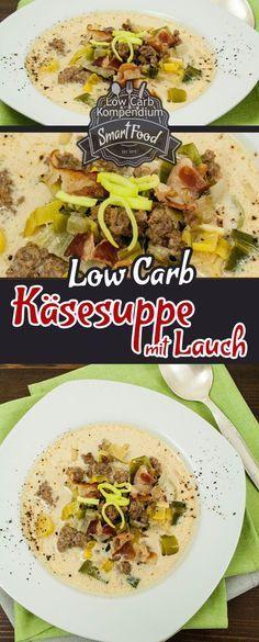 Diese Low Carb Käsesuppe mit Lauch ist schnell zubereitet, wärmt Körper & Seele, ist praktisch und so genial lecker :)