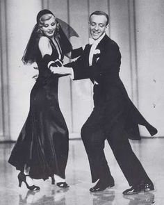 """original caption: """"They can't take that away from me""""    (Fred Astaire is a big influence for my main character's costume designer mother)"""