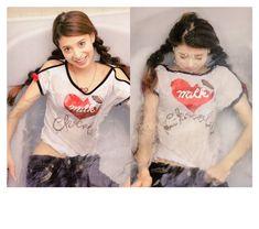 """マモルさんのツイート: """"1994…2008' model_吉川ひなの brand*MILK 13才の頃からMILK❤️…… """" Fashion Beauty, T Shirts For Women, Model, Hair, Photography, Twitter, Tops, Magazine, Style"""
