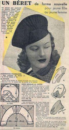 Le Petit Écho de la Mode - 6 octobre 1940 from http://isabellurette.tumblr.com/archive
