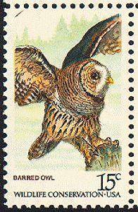 Barred owl  [1978-08-26]