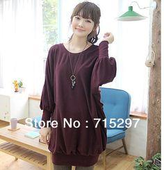 2013 fashion women big size sweat shirt outwear autumn and winter basic shirt XXXXL factory offered directly big discount
