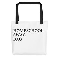 Get your homeschool gear here! Shirts, hoodies, hats, and bags. Homeschool, Swag, Reusable Tote Bags, Homeschooling
