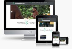 Diseño web para montador de video http://www.basicum.es/portfolio-item/diseno-web-maximo/