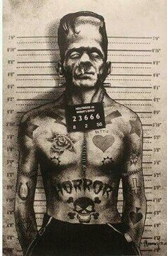 #frankenstein #ink #tattos #art