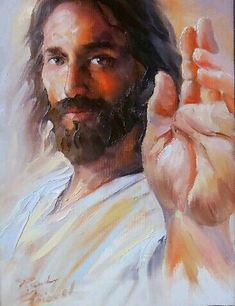 """""""Faith Has Saved You"""" Giclee print by Randy Friemel Giclee Print ~ 14 x 11 God and Jesus Christ Images Du Christ, Pictures Of Jesus Christ, Catholic Art, Religious Art, Image Jesus, Jesus Tattoo, Jesus Painting, Jesus Face, Prophetic Art"""