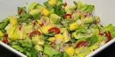En dejlig mangosalat med avocado og en sennepsdressing til. Food N, Good Food, Yummy Food, Food And Drink, Mango Salat, Scandinavian Food, Danish Food, Cooking Recipes, Healthy Recipes