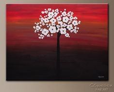 modern painting flowers - Buscar con Google