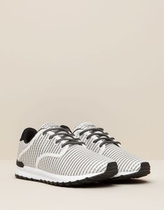 Pull&Bear - hombre - zapatos hombre - deportivo fantasía - blanco - 13100112-I2015