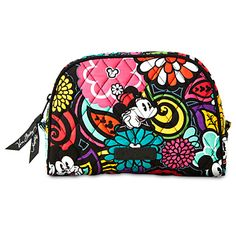 Mickey's Magical Blooms Cosmetic Bag by Vera Bradley   Disney Store