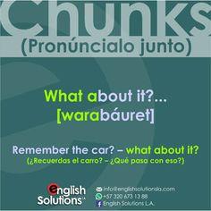 Chunk (about) Inglés Americano English Articles, English Tips, Spanish English, English Idioms, English Class, English Lessons, English Grammar, English Language, Learn English