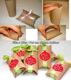 Carton de papel higiénico.
