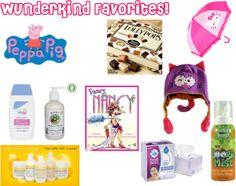 Wunderkind Favorites!
