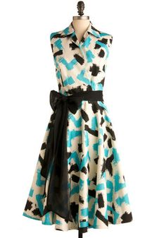 How was your day? The question is moot - in this dress by Pinup Couture, how could have it been anything but excellent?