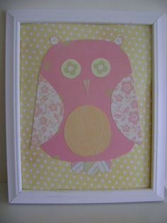 "gotta make this for Kerrigan's room with some scrapbook paper!  My students could do it too, for nocturnal animals or when we learn the letter ""n"" with ""night owl"""