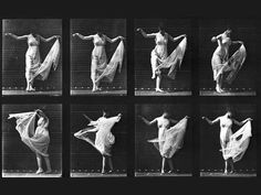 Eadward Muybridge, Dancing (Fancy), 1887