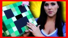 Want to dress up like a creeper from Minecraft for Halloween? Check out this video to learn how to make a great-looking creeper costume out of a paper box. Blockify yourself like a Minecraft mob. For the boys Minecraft Halloween Costume, Creeper Costume, Minecraft Costumes, Robot Costumes, Halloween Costumes For Kids, Halloween Ideas, Halloween 2014, Minecraft Birthday Party, Birthday Party Tables