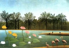 I want to live in a Henri Rousseau painting #lovehousehome