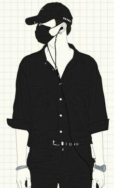 Black Wallpaper Iphone Dark, Heart Iphone Wallpaper, Jordan Logo Wallpaper, Low Key Photography, Cute Cartoon Boy, Bts Anime, Cute Couple Wallpaper, Dark Anime Guys, Fashion Design Drawings