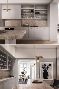 Kitchen Dining, Kitchen Cabinets, Kitchen Interior, Colours, Interior Design, Kitchens, Studio, Stockholm, Inspiration