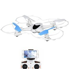 Amazon.com: DBPOWER X300C FPV RC Quadcopter Drone with Wifi Camera 2.4G 4CH 6-Axis Gyro RTF Headless Mode Copter for IOS and Android System, Compatible with 3D VR: Toys & Games
