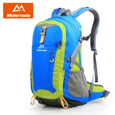 40L Travel Backpack Maleroads Daily backpack Outdoor Camp Hiking Climb Rucksack Mountaineering Bag Sport Mochila Women Men Girls