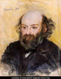 Paul Cezanne - Pierre Auguste Renoir