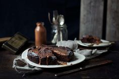 The Healthy Gooey Black Bean Chocolate Mud Cake! www.Earthsprout.com