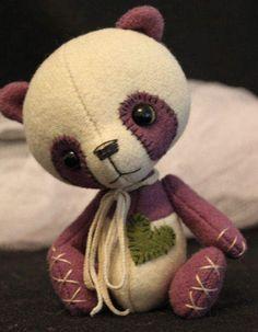 Iris the Panda by Tickled Pink Bears
