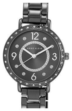 Anne Klein Round Bracelet Watch, 30mm available at #Nordstrom