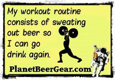 So far it's working! #Beer #CraftBeer #Humor
