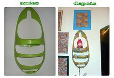 Desafio entre blogueiras Diy, Dollar Store Decorating, Challenges, Recycling, Stuff Stuff, Bricolage, Do It Yourself, Homemade, Diys
